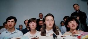 Os videntes de Medjugorje em 1981