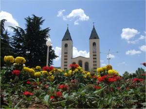 A Igreja de São Tiago em Medjugorje, onde Pascale Gryson-Selmeci se levantou da sua cadeira de rodas em 3 de agosto