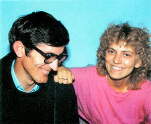 Mirjana and Fr. Petar Ljubicic about the time of their interview in October 1985
