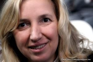 Vidente Marija Pavlovic-Lunetti em 2 de dezembro, em Varese, Itália. Foto: Daniel Miot, guardacon.me