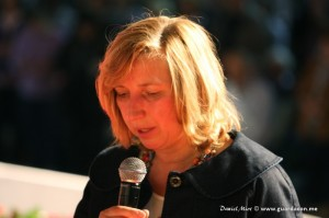 Marija Pavlovic-Lunetti em 20 de maio. Foto: Daniel Miot, guardacon.me