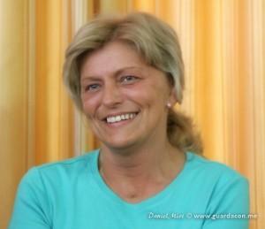 Mirjana Dragicevic-Soldo, julho de 2012. Foto: Daniel Miot, guardacon.me