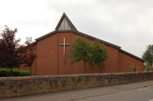 Igreja de São João Batista, em Motherwell, Escócia, onde Ivan falou e teve duas aparições