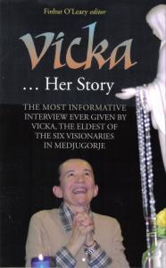 Capa da nova versão do livro VICKA HER STORY do escritor Finbar O´Leary