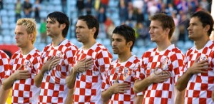 Equipe nacional de futebol da Croácia.