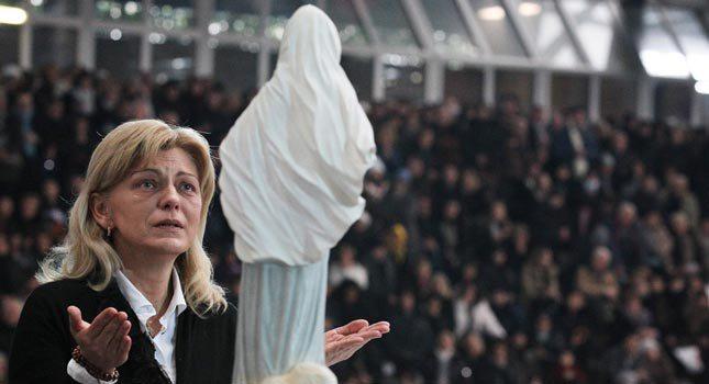 Mirjana: Quando Nossa Senhora parte, sinto a separação do Paraíso !!