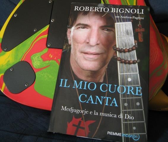 Músico italiano é convertido em Medjugorje e escreve livro