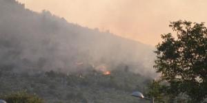 Os incêndios começaram no dia 12 de julho  Estes fogos em uma colina em frente a vila de Miletina se espalharam e foram em direção a montanha da cruz quando se pensava que os mesmos já tinham sido extintos. Fonte: Hercegovina Info
