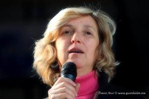 Marija Pavlovic-Lunetti em Varese, Itália, novembro 2011 Foto: Daniel Miot, guardacon.me