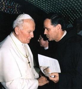 Papa João Paulo II recebe Padre. Jozo em 17 de junho de 1992. Dois meses antes, padre. Jozo tinha profetizado vividamente os conteúdos mais precisos do triunfo do Coração Imaculado de Maria''.