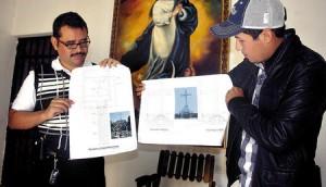 Os planos arquitetônicos para a réplica da Montanha da Cruz em Honduras foram apresentados em 10 de janeiro de 2013.