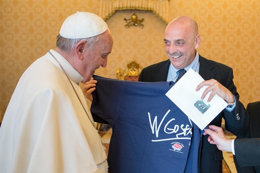 "Papa recebe ""embaixador leigo"" de Medjugorje"