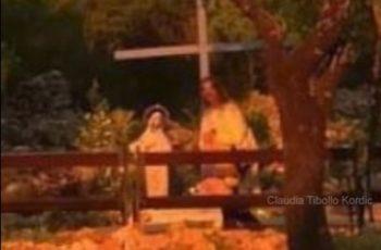 Jesus fotografado em Medjugorje !!!